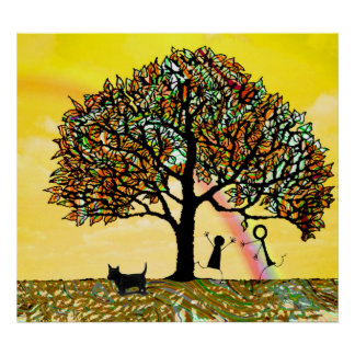 Baum des Lebens erneuern Poster