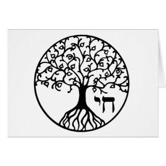 Baum des Lebens mit CHAI Karte