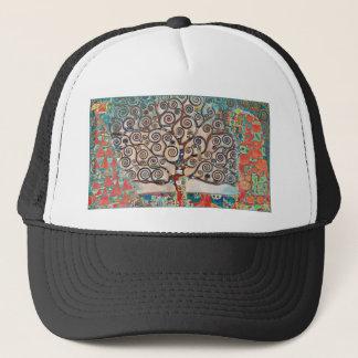 Baum des Lebens mit Vögeln Truckerkappe