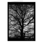 Baum des Lebens - nicht nur für Baum huggers Karte
