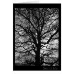 Baum des Lebens - nicht nur für Baum huggers Grußkarte