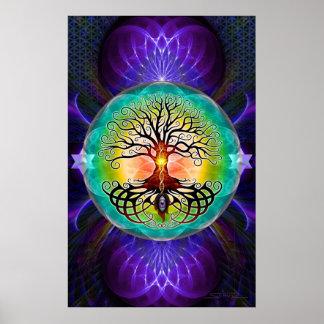 Baum des Lebens Plakatdrucke