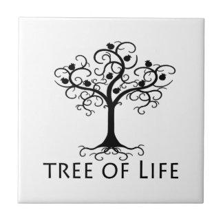 Baum des Lebens, Strudel-Baum, Granatäpfel Fliese
