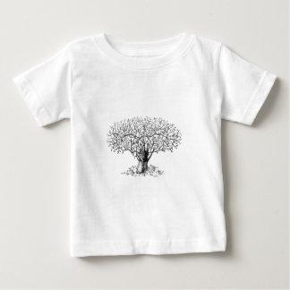 Baum des Lebens - Tiere Baby T-shirt