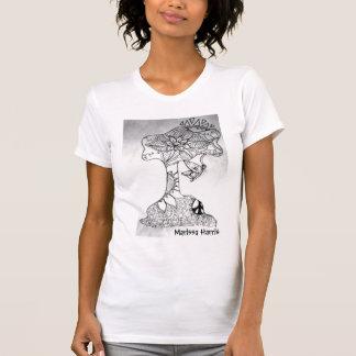 Baum-enormeres Trägershirt T-Shirt