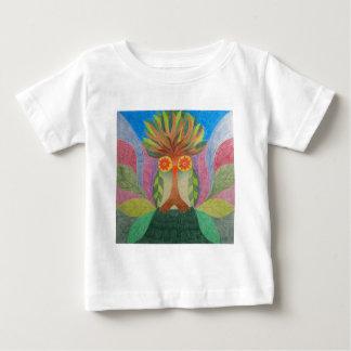 Baum Eule Baby T-shirt