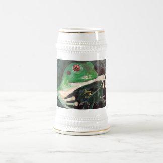 """""""Baum-Frosch-"""" Bier Stein Bierglas"""