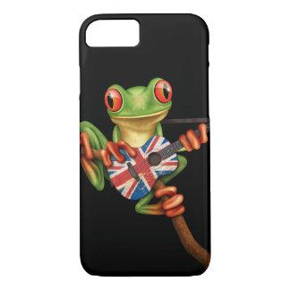 Baum-Frosch, der britisches iPhone 8/7 Hülle