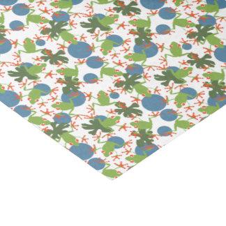 Baum-Frösche Seidenpapier