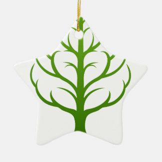 Baum-Gehirn-Konzept Keramik Ornament