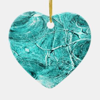 Baum-Glied-Fraktal-Themed Waren Keramik Ornament