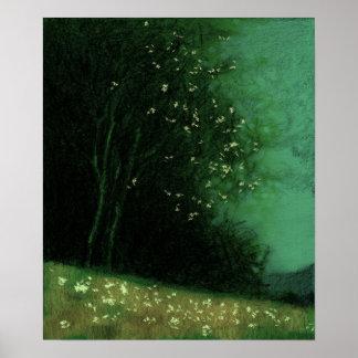 Baum - grüne Veränderung 11 Poster
