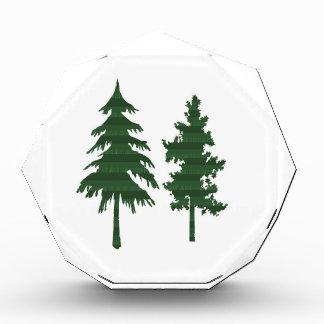 BAUM grünes wildes Umwelt-Dschungel-Holz NVN712 Auszeichnung