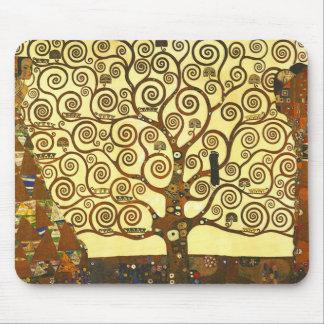 Baum Gustav Klimt der Leben-Mausunterlage Mauspads