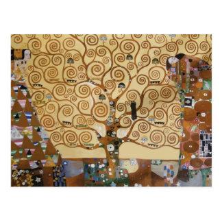 Baum Gustav Klimt des Lebens Postkarte