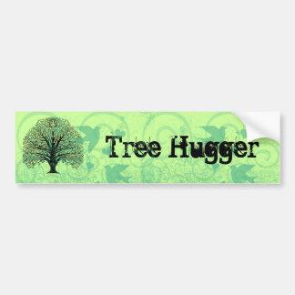 Baum Hugger Autoaufkleber