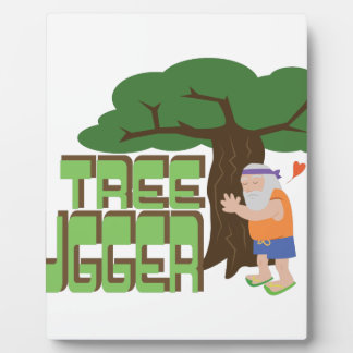 Baum Hugger Fotoplatte