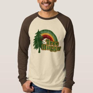Baum Hugger, lustiger Tag der Erde T-Shirt