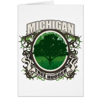 Baum Hugger Michigan Karte