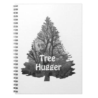 Baum hugger Notizbücher