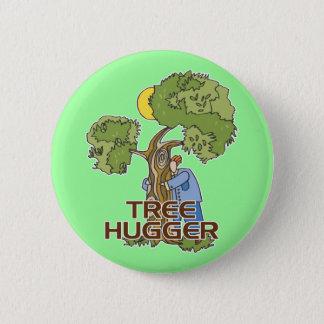 Baum Hugger Runder Button 5,7 Cm