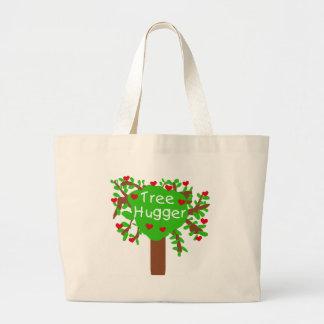 Baum Hugger Leinentasche
