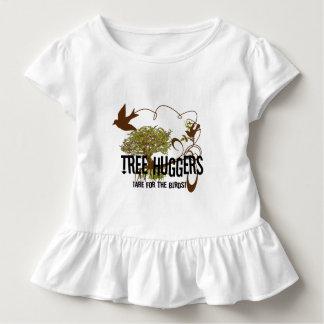 Baum Huggers sind für die Vögel Kleinkind T-shirt