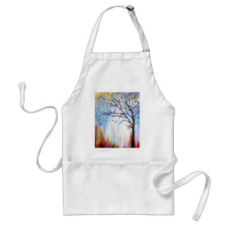 Baum im Wind Schürze