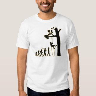 Baum-Klettern T-shirt