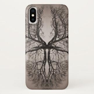 Baum-Kunst iPhone X Hülle