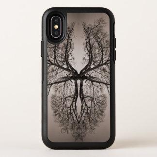 Baum-Kunst OtterBox Symmetry iPhone X Hülle
