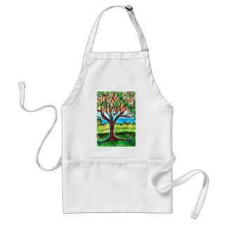 Baum-Kunst Schürze