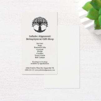 Baum Leben-der vertikalen geistigen Visitenkarte