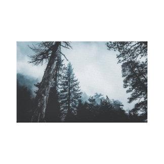Baum-Leinwand Leinwanddruck
