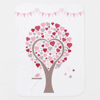 Baum mit Herzen Puckdecke