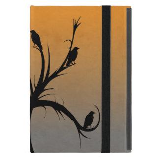 Baum mit Krähen Etui Fürs iPad Mini