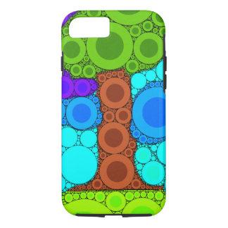 Baum-Mosaik-konzentrische Kreise iPhone 7 Fall iPhone 8/7 Hülle