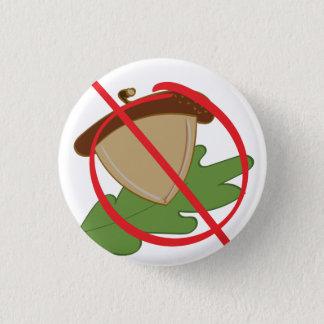 Baum-Nuss-Allergie Runder Button 3,2 Cm