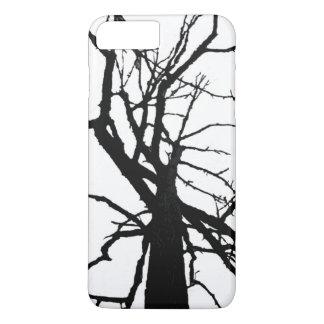 Baum oberste abstrakte iPhone 7 Plusfall iPhone 8 Plus/7 Plus Hülle