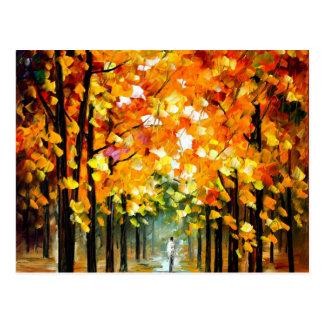 Baum Postkarte