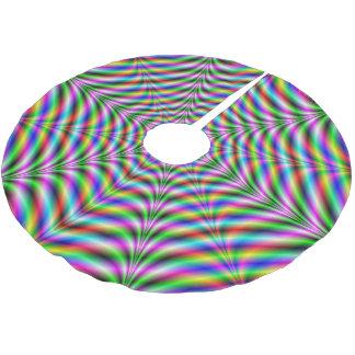 Baum-Rock   zwölf zeigte psychedelisches Netz Polyester Weihnachtsbaumdecke