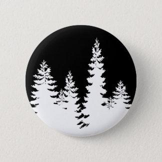 Baum Runder Button 5,1 Cm