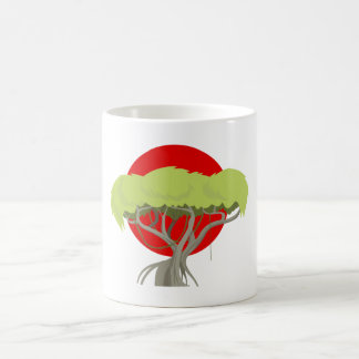 Baum Savanne tree savanna Kaffeetasse