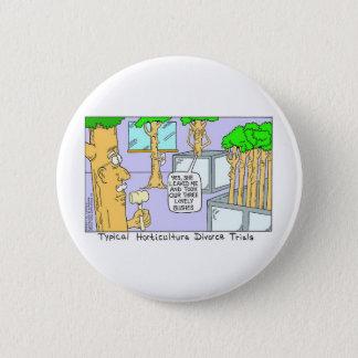 Baum-Scheidung: Lustige Geschenk-T-Shirts u. Runder Button 5,7 Cm