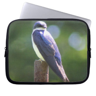 Baum-Schwalben-Laptop-Hülse Laptop Sleeve