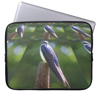 Baum-Schwalben-Neopren-Laptop-Hülse Laptop Sleeve