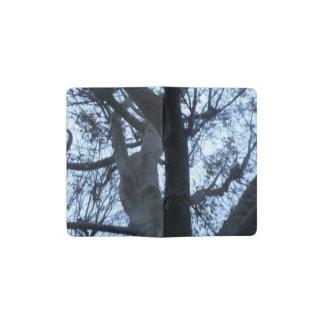 Baum-Silhouette-Fotografie-Notizbuch-Abdeckung Moleskine Taschennotizbuch