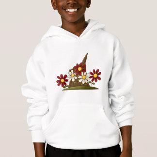 Baum-Stumpf-Blumen Hoodie