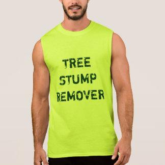Baum-Stumpf-Entferner Ärmelloses Shirt