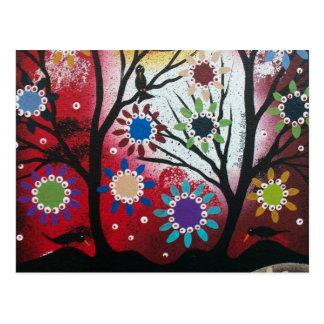 Baum Talk_By Lori Everett_ Tag der Toten, DOD Postkarte